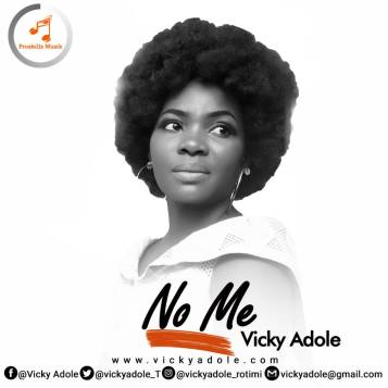 Vicky Adole - No Me Art Cover