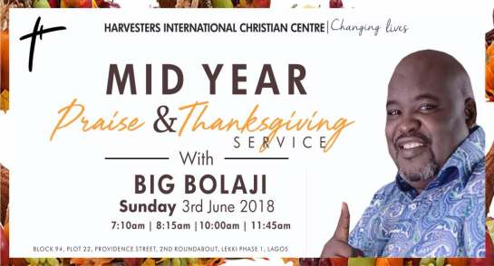 HICC Thankgiving With Big Bolaji 2