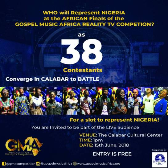 Gospel Music Africa Reality TV Competition
