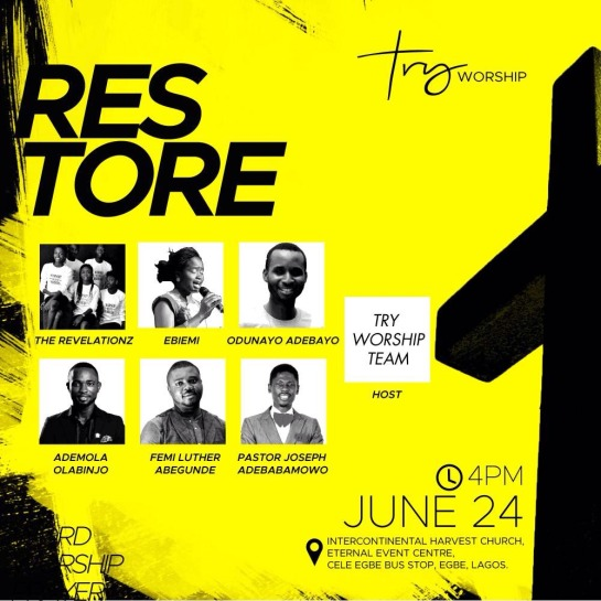 Restore This June - Try Worship