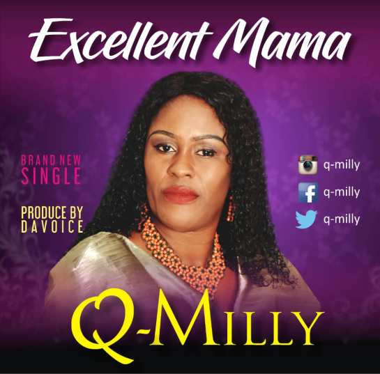 Q Milly Excellent Mama cover