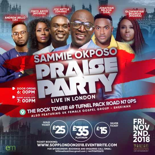 Sammie Okposo Praise Party