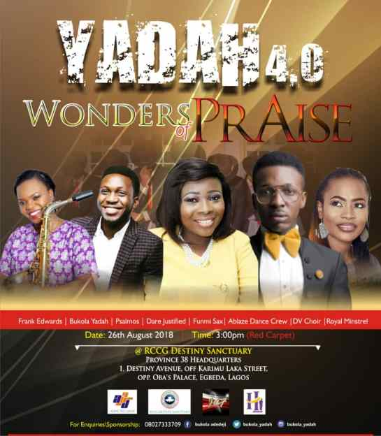 Yadah - Wonders of Praise
