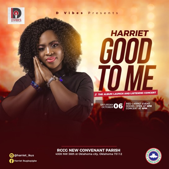 Harriet To Set To Host GOOD TO ME