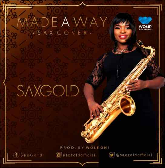 Saxgold - Made a Way [Art cover]