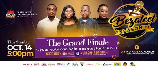 EVENT - BEZALEEL GOSPEL MUSIC COMPETITION GRAND FINALE