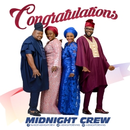 Congratulations by Midnight Crew with social media