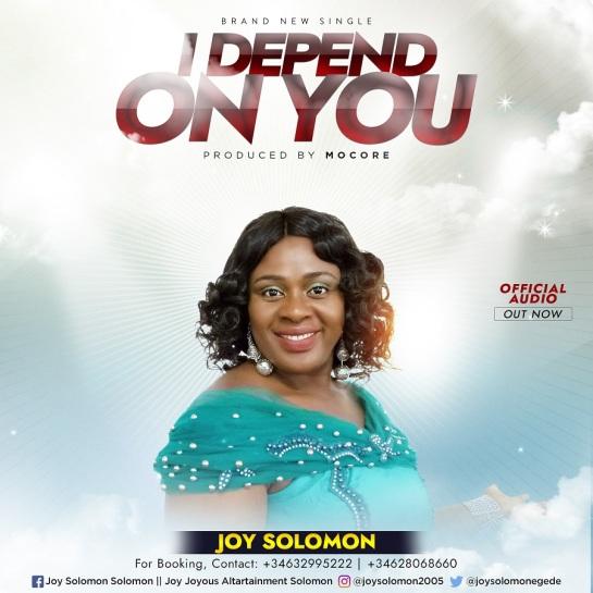 I Depend on You - Joy Solomon