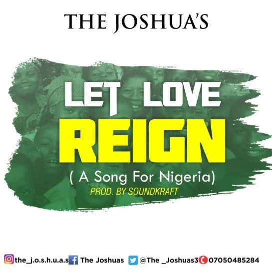 The Joshua's - Let Love Reign.jpg